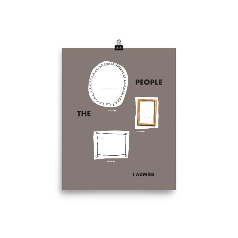 The People I Admire by Lennart Veenendaal