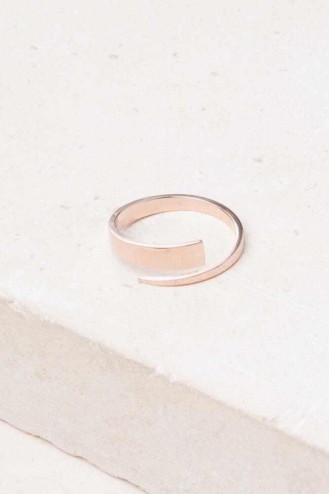Tanner Rose Gold Ring