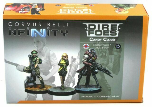 Infinity: Combined Army Dire Foes Mission Pack 7: Candy Cloud (280018-0709) | Vortex Games NB