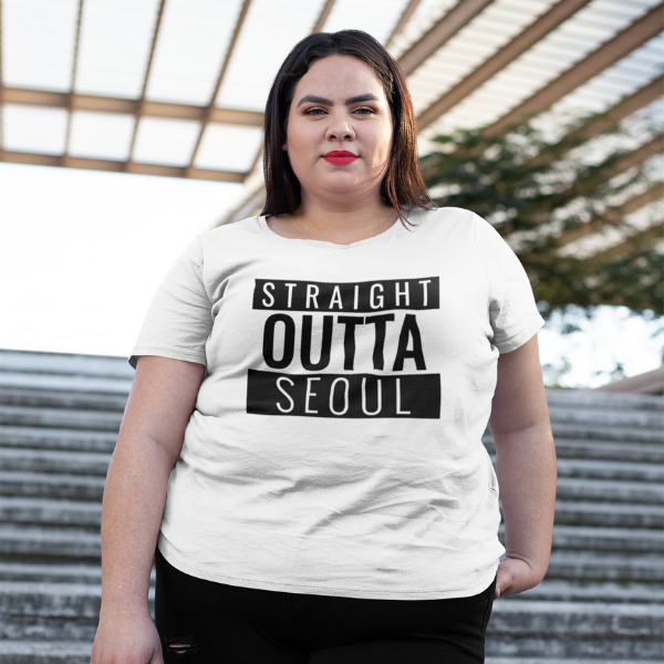 Straight outta Seoul Premium Korean T-shirt Oversized