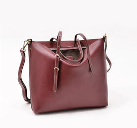 Womens Large Tote With Long Handles