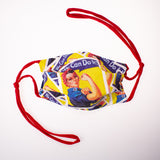 Rosie the Riveter Mask