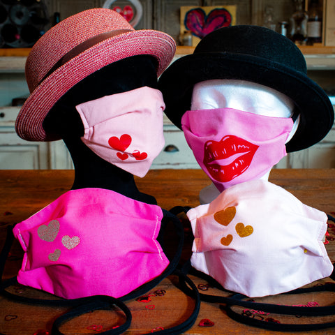 Valentines Day Face Masks