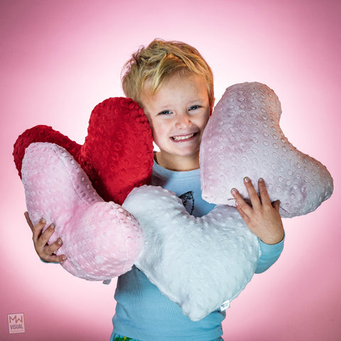 Valentines Day Heart Pillows