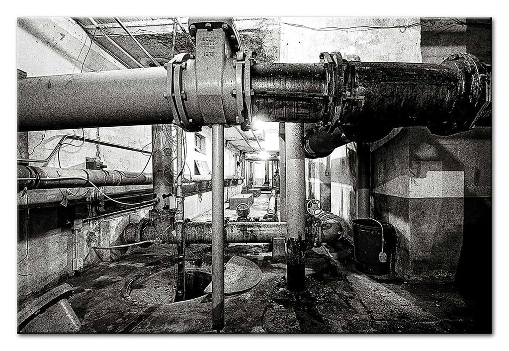Basement of Well #1 Columbus Water Works