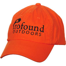 Load image into Gallery viewer, Profound Outdoors Hunter Orange Hat