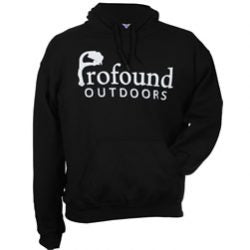 Profound Outdoors Black Hoodie