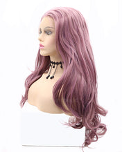 Load image into Gallery viewer, Audrey | Trendy Long Natural Wavy Synthetic Hair Lace Front Wig
