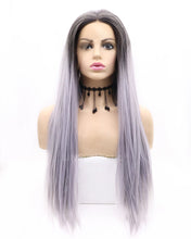 Load image into Gallery viewer, Emma | Charming Ombre Long Natural Straight Synthetic Hair Wig