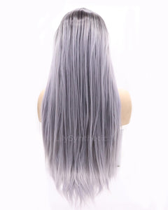 Emma | Charming Ombre Long Natural Straight Synthetic Hair Wig