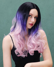 Load image into Gallery viewer, Stella | Elegant Balayage Long Natural Wavy Synthetic Hair Wig