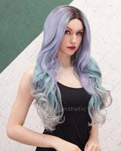 Load image into Gallery viewer, Bella | Chic Balayage Long Natural Wavy Synthetic Hair Wig
