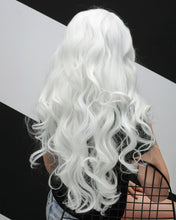 Load image into Gallery viewer, Aaliyah | Angelic White Long Natural Wavy Synthetic Hair Wig