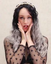 Load image into Gallery viewer, Audrey | Graceful Gray Ombre Long Wavy Synthetic Hair Wig