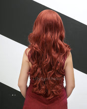 Load image into Gallery viewer, Julia | Charming Red Long Natural Wavy Synthetic Hair Wig