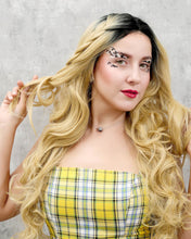 Load image into Gallery viewer, Mia |  Unique Ombre Long Wavy Synthetic Hair Lace Front Wig