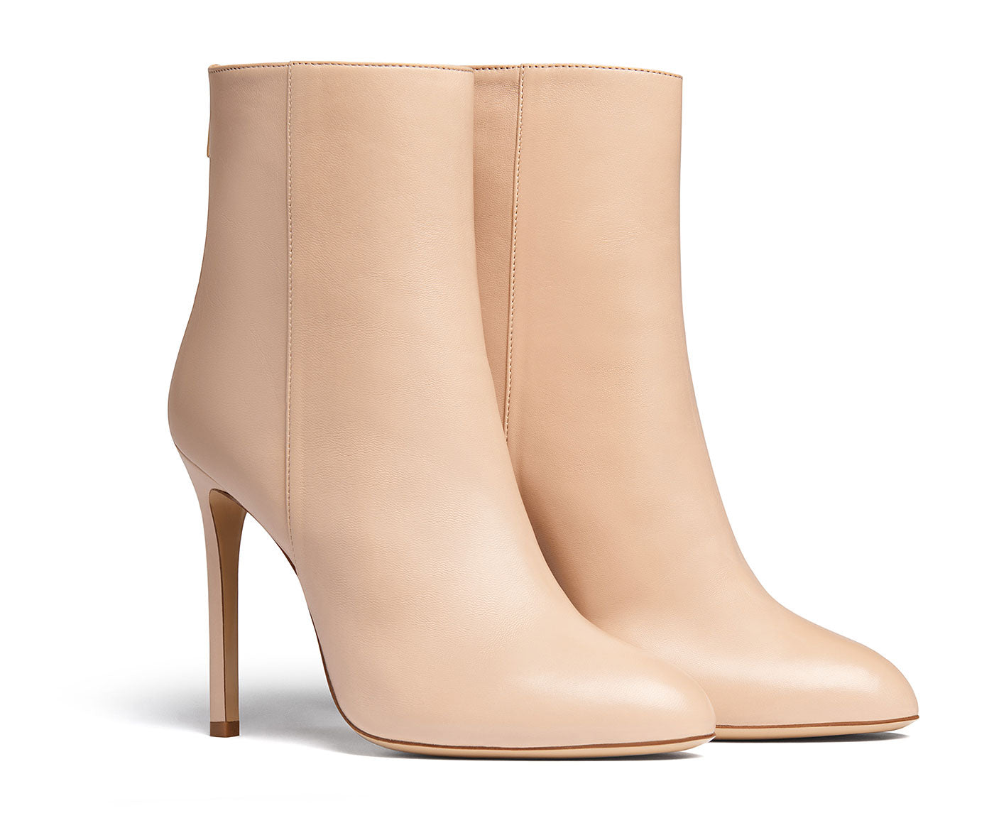 Kendrick Nude Ankle Boots
