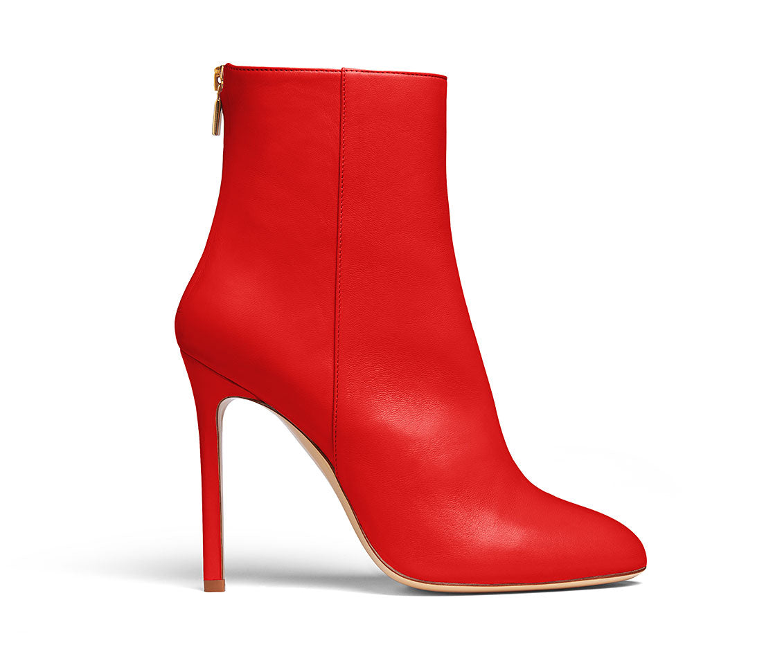 Kendrick Red Ankle Boots
