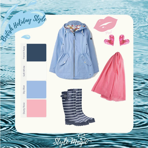 Wet weather look #1 for Summers