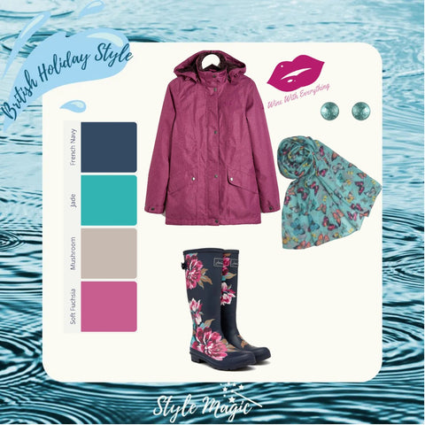Wet weather look #2 for Summers