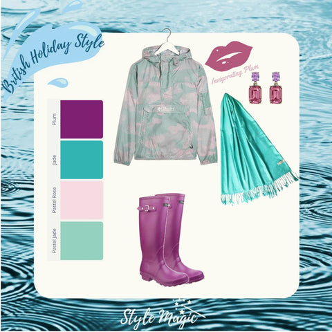 Wet weather look #3 for Summers