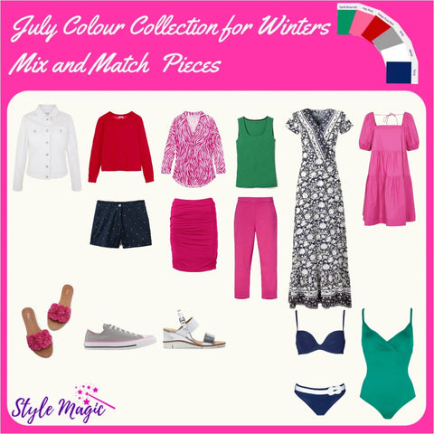 July 21 Mix and Match Capsule Wardrobe for Winters