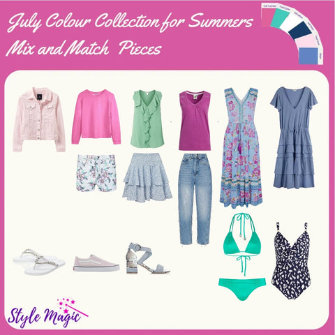 July 21 Mix and Match Capsule Wardrobe for Summers
