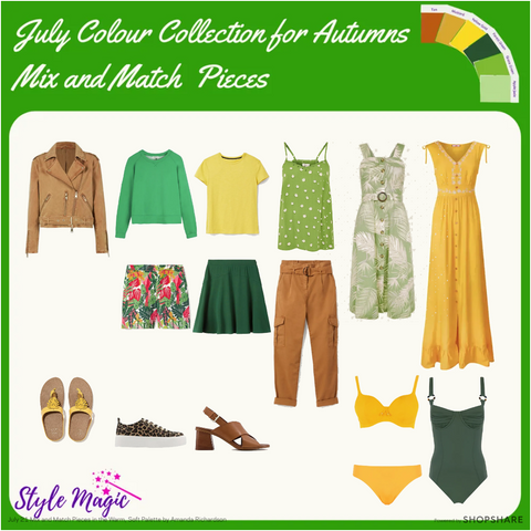 July 21 Mix and Match Capsule Wardrobe for Autumns
