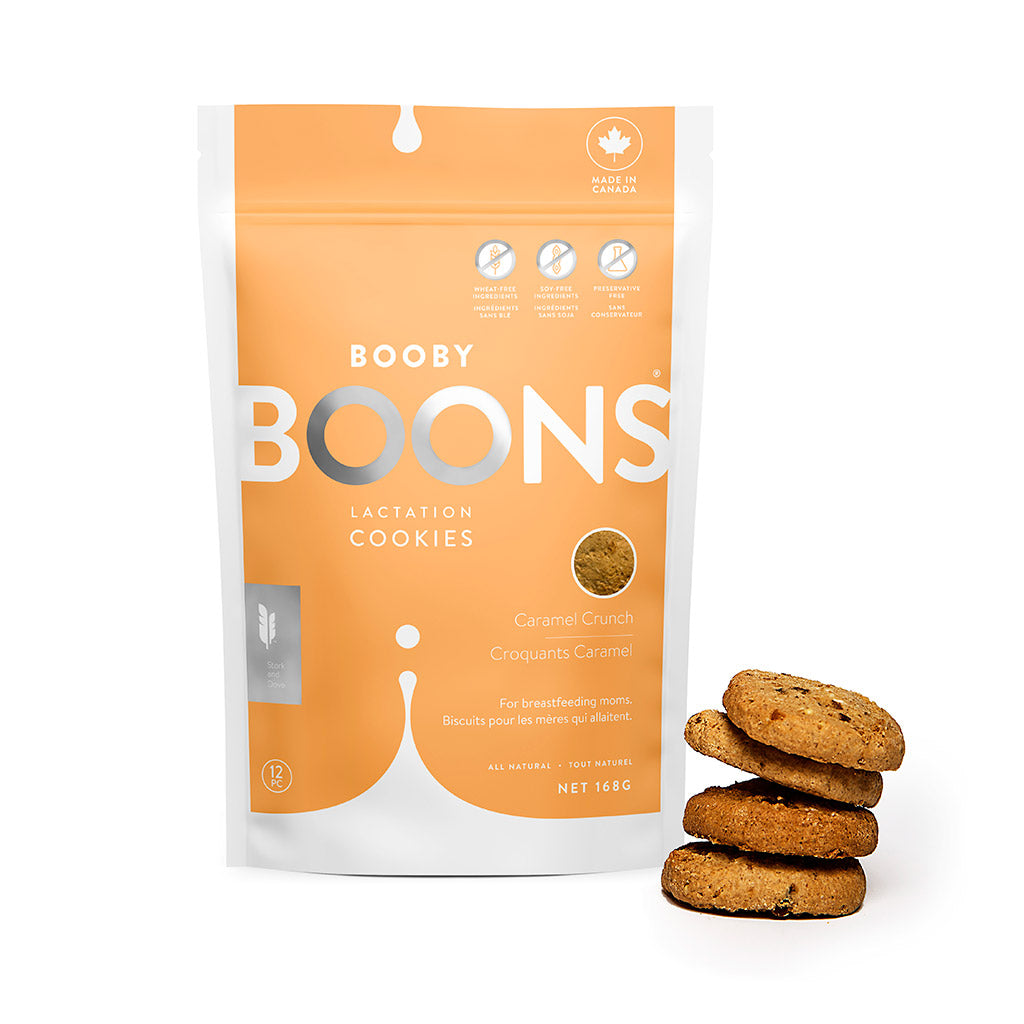 Caramel Crunch Booby Boons Lactation Cookies® (6oz)