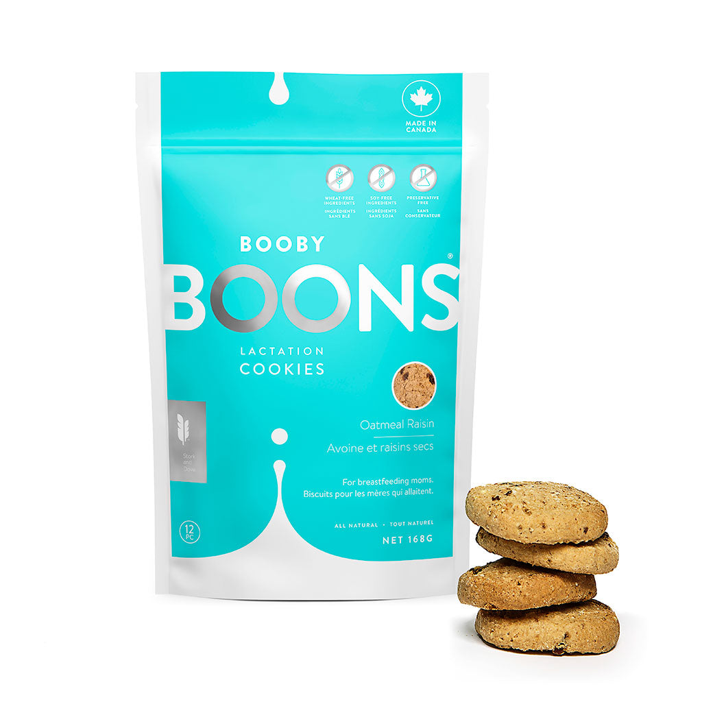 Oatmeal Raisin Booby Boons Lactation Cookies® (6oz)