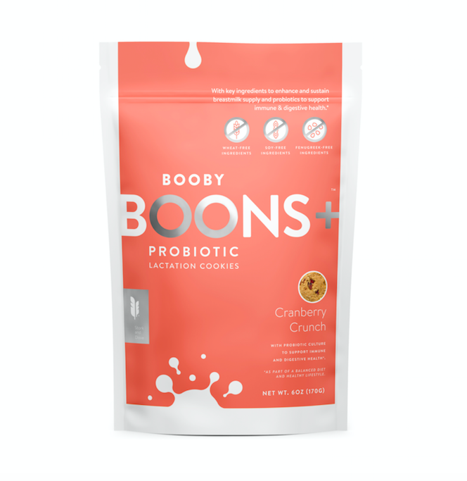 Boons+™ Probiotic Lactation Cookies: Cranberry Crunch (6 oz)