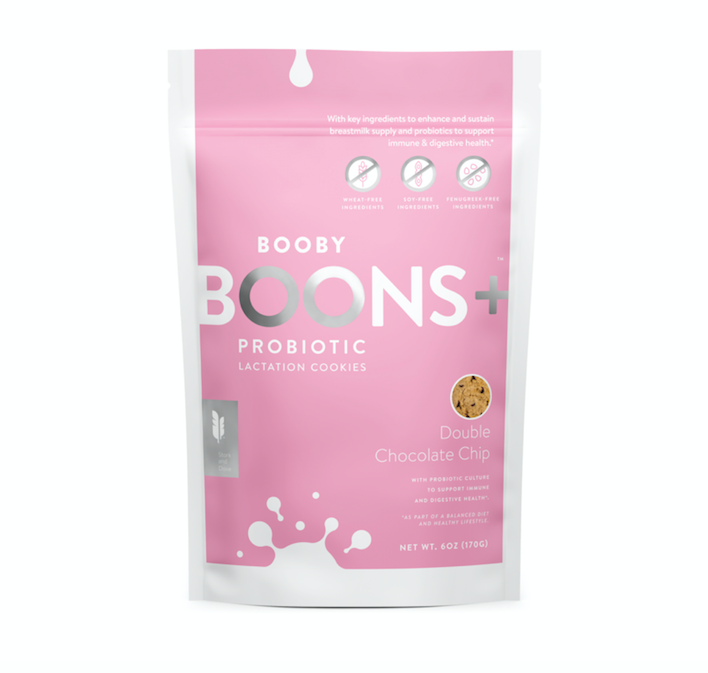 Boons+™ Probiotic Lactation Cookies: Double Chocolate Chip (6 oz)