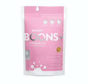 Boons+ Probiotic Lactation Cookies: Double Chocolate Chip (6 oz)