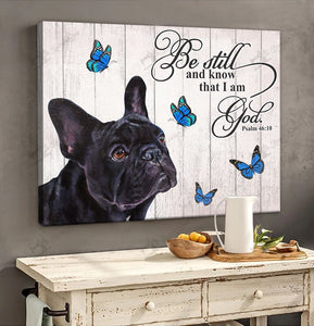 THD0149 French Bulldog Matte Canvas