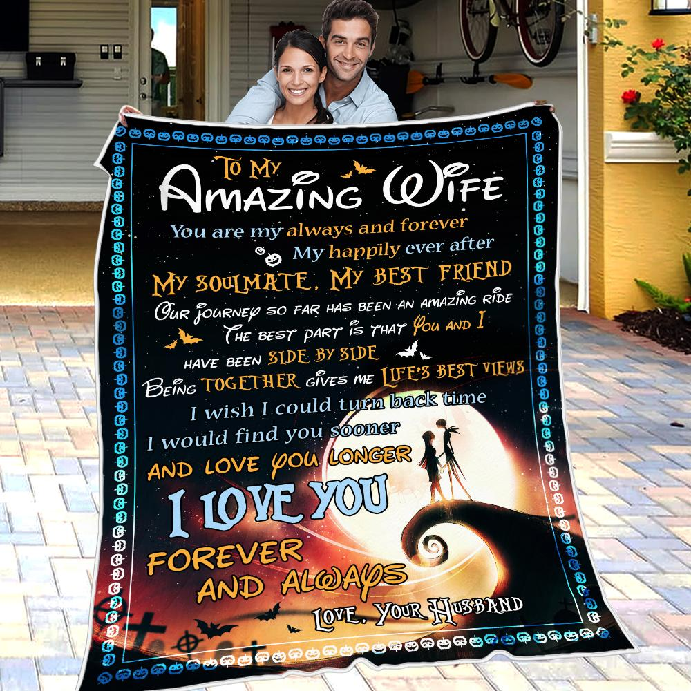 Husband To Wife - My Happily Ever After - Blanket