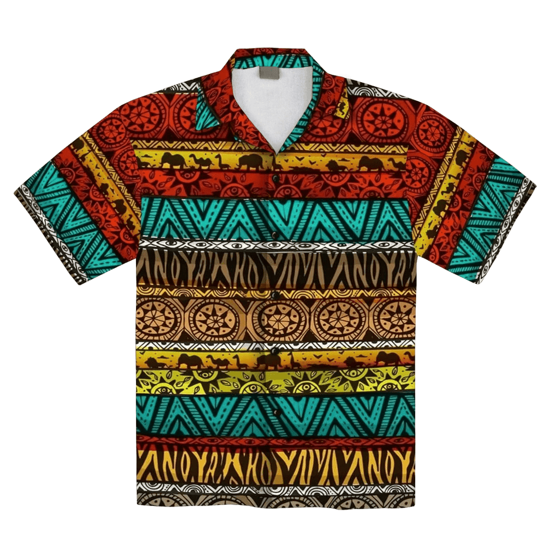 African Pattern 1 Hawaiian Shirt