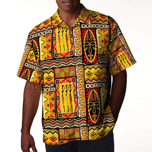 Hippie African Hawaiian Shirt