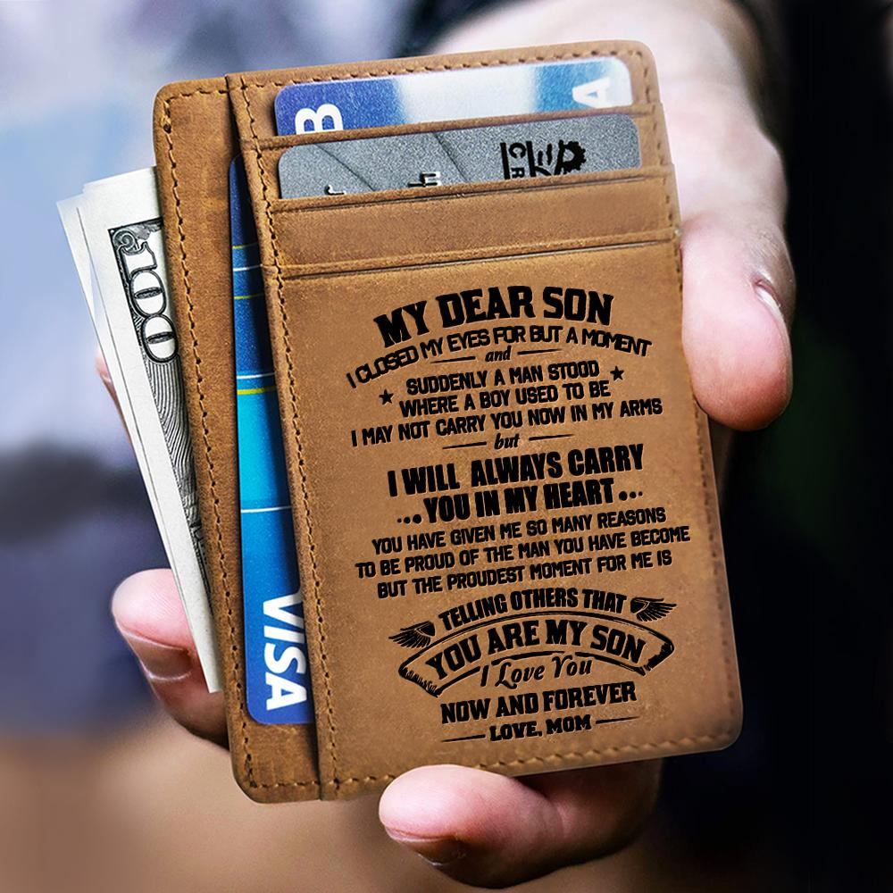 Card Wallet - Son i Love You Now And Forever
