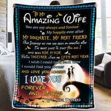 Cargar imagen en el visor de la galería, Husband To Wife - My Happily Ever After - Blanket