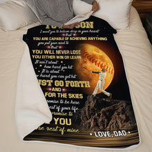 Cargar imagen en el visor de la galería, Dad To Son - I'm So Grateful You Are My Son - Blanket