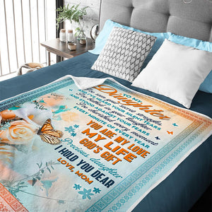 Mom To Daughter - You Are My Love My Life - Blanket
