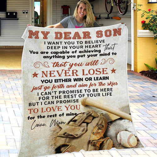 Mom To Son - Aim For The Skies - Blanket