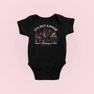 It's Not a Phase Goth Baby Bodysuit