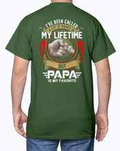 Cargar imagen en el visor de la galería, Papa Is My Favorite Title - Plus Sizes T-Shirt For Dad