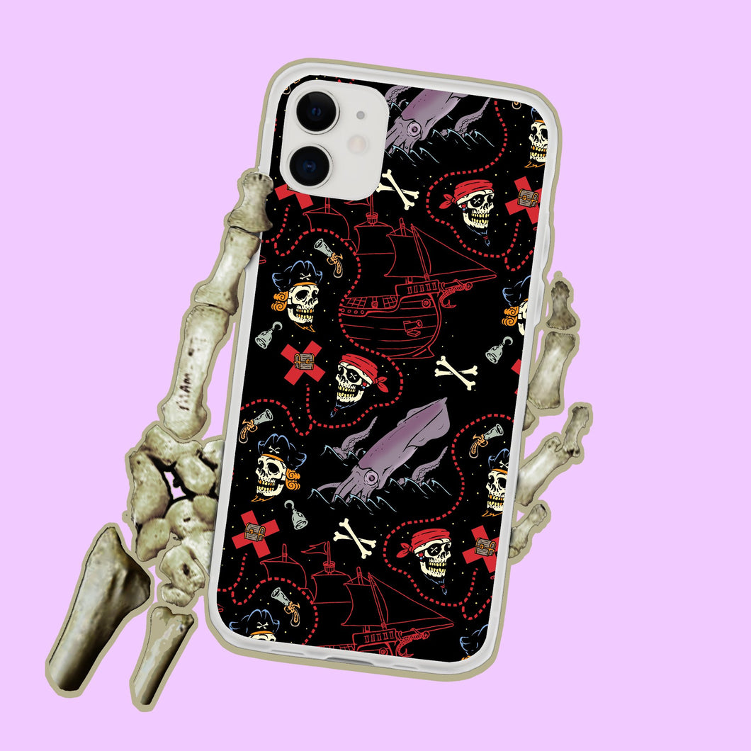 Pirate Skulls x Marks The Spot Iphone Case