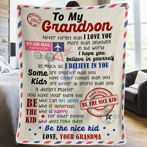 Grandma to Grandson - You Have Your Thing - Blanket