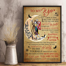 Cargar imagen en el visor de la galería, Husband to Wife - Happily Ever After - Vertical Matte Posters