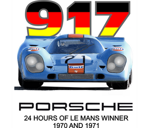 Porsche 917 Winner of Le Mans T-Shirt