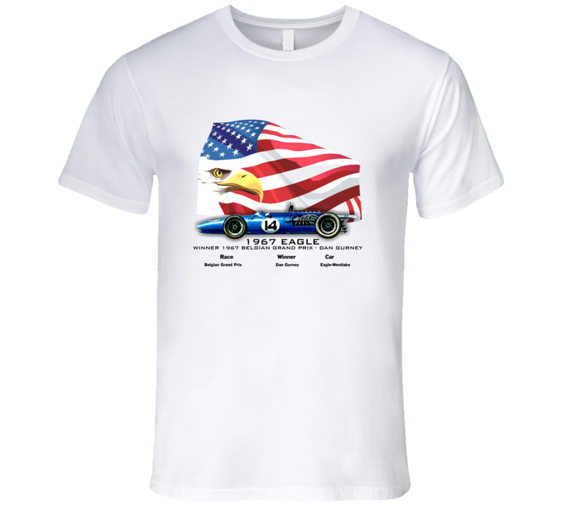 1967 Eagle Formula 1 T-Shirt - Smilingwombat