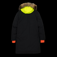 Load image into Gallery viewer, Griffin Reversible Sleeping Bag Coat - Black